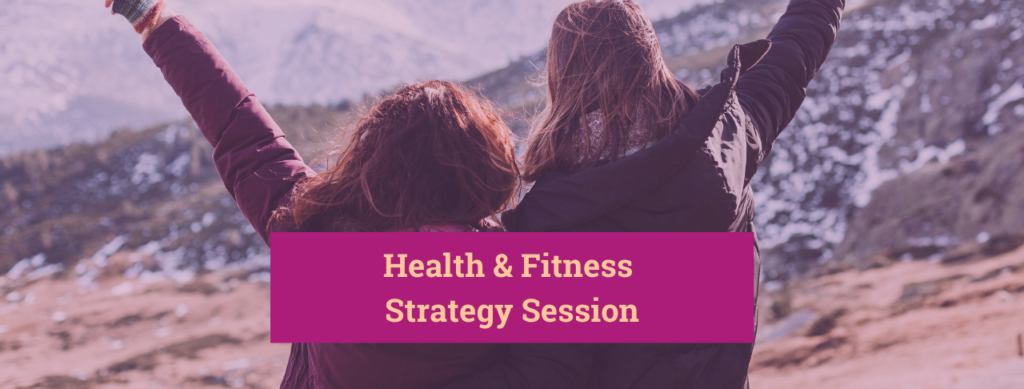 Health and Fitness Strategy Session_Banner
